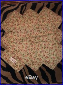 Donna Sharp Quilt Longaberger Basket Signed Matching Pillow Sham 2 Pc Set Rare