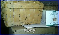 ENTIRE 12 pc JW Longaberger Miniature Basket Set 1 signedMANY EXTRA Accessories