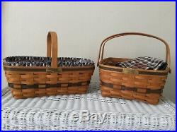 LONGABERGER Complete Set of 12 Original JW COLLECTION Baskets