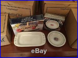 LONGABERGER Complete set of 12 Collectors Club JW MINIATURE BASKETS with EXTRAS