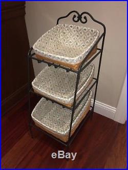 Longaberger Basket Set » Blog Archive » LONGABERGER Wrought Iron ...