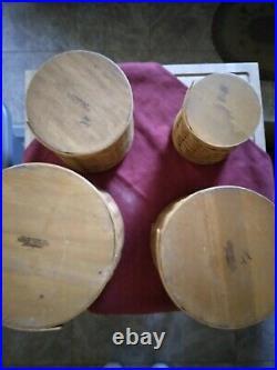 Longaberger 12 Pc Basket Canister Set