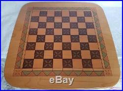 Longaberger 2001 Fathers Day Basket Checkerboard Basket Set Combo