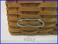 Longaberger 2003 Hostess Only File Basket #19004, Protector Set & Liner