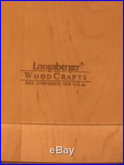 Longaberger 2005 ALL-IN-ONE GAME BASKET ACCESSORY SET
