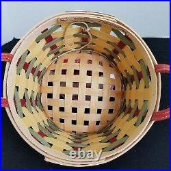Longaberger 2008 Collectors Club Homestead Gathering Event Hoe Down Basket Set