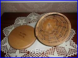 Longaberger 2010 Collector's Club Beehive Basket Set