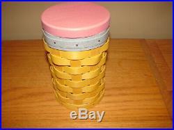 Longaberger 2014 Rare Number # 2 Two Pencil Basket Set
