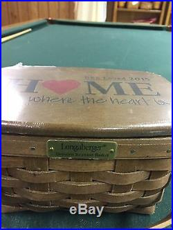 Longaberger 2015 Bee Basket Set-new