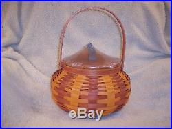 Longaberger 2016 Large Pumpkin Basket Set Orange Spice