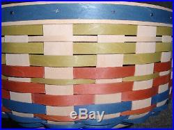 Longaberger 2017 very rare Collectors Club Pumpkin Vine Basket Set. NEW