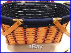 Longaberger All-American Collection Hostess Block Party Basket Set, Pre-owned