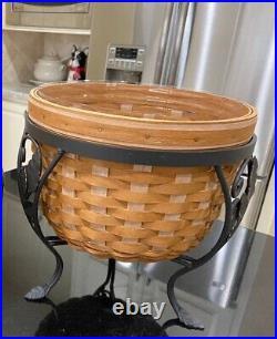 Longaberger At Home Garden Foliage Basket Set