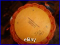 Longaberger Basket Complete Set of Four Pumpkin series 1995-97