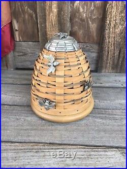 Longaberger Bee Hive Basket Set