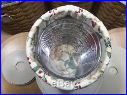 Longaberger Canister Basket Full Set Of 4 2004