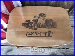 Longaberger Case International Harvester Medium Market Set