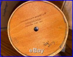 Longaberger Collectors Club 2003 Mini Umbrella Basket Set & 2 Umbrellas