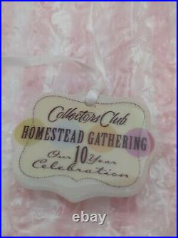 Longaberger Collectors Club 2006 Homestead Gathering Lg Cupcake Basket Set A+