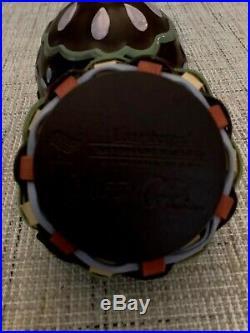 Longaberger Collectors Club 2012 Miniature Sweets Chocolate Egg Basket Set