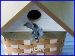 Longaberger Collectors Club Birdhouse Basket Combo Set withBox