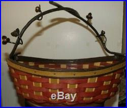 Longaberger Collectors Club Bittersweet Basket Set RARE