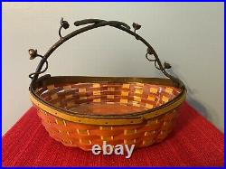Longaberger Collectors Club Bittersweet Basket and Protector Set