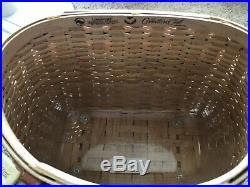 Longaberger Collectors Club CC Fishing Creel Basket Set NEW Retired