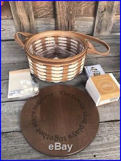 Longaberger Collectors Club Family Together Series Play Basket Set