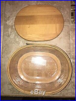Longaberger Collectors Club Harmony Basket Set Of 5 With Protectors