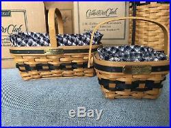 Longaberger Collectors Club JW MINIATURE BASKETS Complete Set of 12'96'03