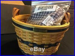 Longaberger Collectors Club JW MINIATURE BASKETS Complete Set of 12. NEW