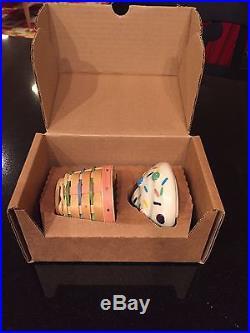 Longaberger Collectors Club Little Cupcake Birthday Basket Set New In Box