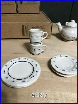 Longaberger Collectors Club Miniature Tea Set- New