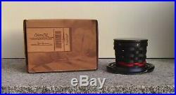 Longaberger Collectors Club Miniature Top Hat Basket, Pottery Base & Topper Set