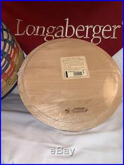 Longaberger Collectors Club Pumpkin Vine Basket Set Mint Condition Very Rare