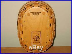 Longaberger Collectors Club Shaker Harmony Set of 5 Baskets, prot. And lids EUC