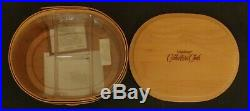 Longaberger Complete Set of 5 Collector's Club Shaker Harmony Baskets NEW no box