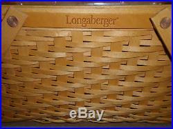 Longaberger, DAVE LONGABERGER FOUNDERS BASKET SET NEW in box