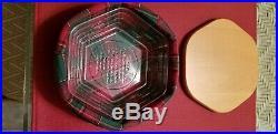 Longaberger Generations Basket Set Holiday Plaid EUC