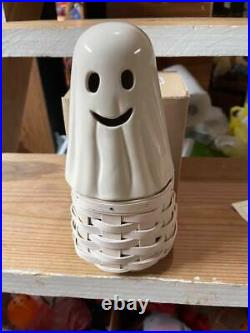 Longaberger Halloween Ghost Basket Set With Protector