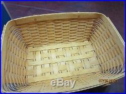 Longaberger Hostess Treasures Basket Set with Lid