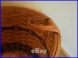 Longaberger JW Collection Corn Basket Set 1991 beautiful shipping included
