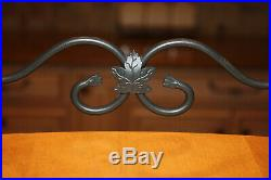 Longaberger Large paper tray wrought iron & basket set with protectors lid & liner