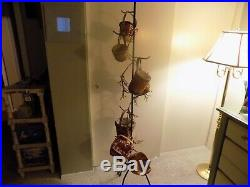 Longaberger Mini Basket Set With Wrought Iron Tree