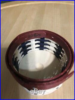 Longaberger Miniature Sweets Americana Cupcake Basket Set New