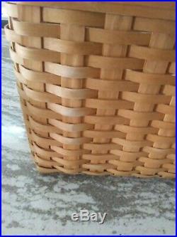 Longaberger Personal File Basket Set Great Item! FREE SHIPPING