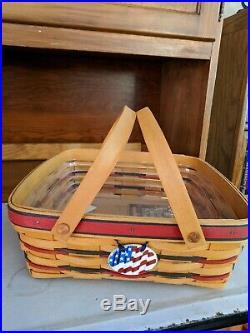 Longaberger Proudly American Basket Set/9+