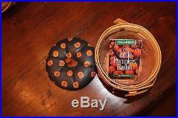 Longaberger Pumpkin Series-Complete Set of 4