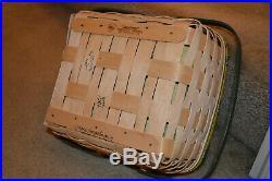 Longaberger Rare 2008 John Deere Fest Basket Set Mint